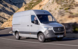 alquilar furgonetas en cordoba, mercedes sprinter viaje