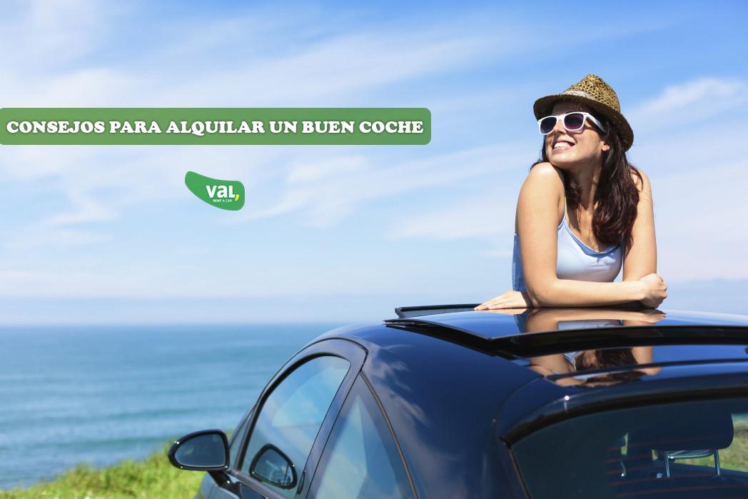 Consejos para alquilar el mejor coche