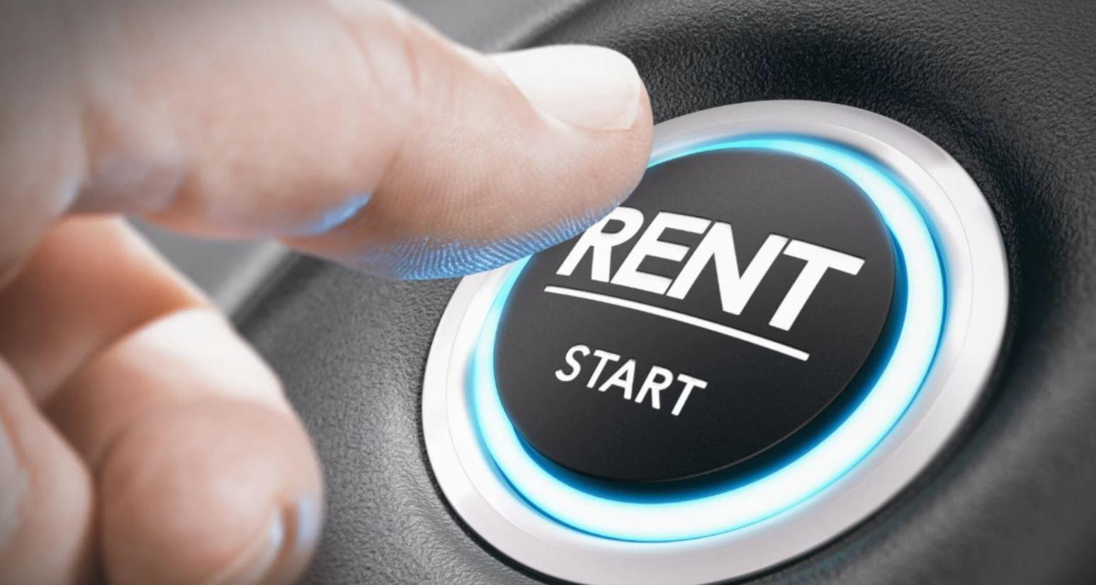 origen del renting